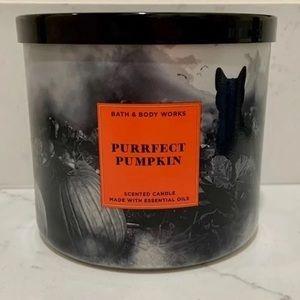 B&BW Purrfect Pumpkin Candle